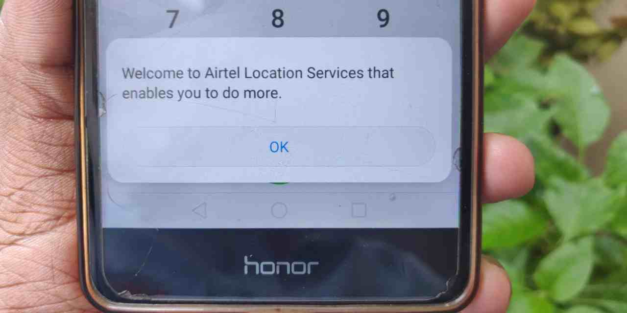 Track Mobile Network Location without using App & Internet (Airtel Network)