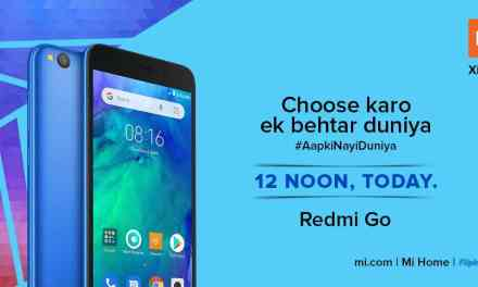 Redmi GO goes on sale today for the first time via Flipkart at Rs. 4,499