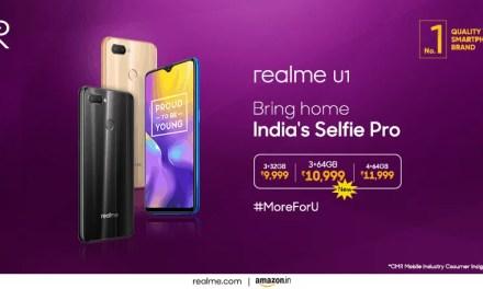 Realme Introduced new storage configuration for Realme U1: Price, Sale & Specs