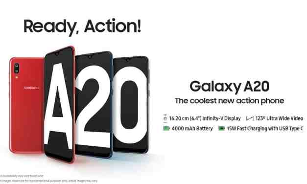 Samsung announced Galaxy A20: Price, Specs & Features
