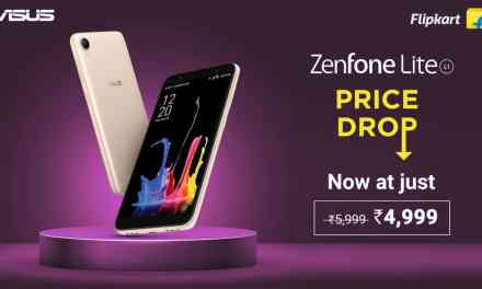 ASUS Zenfone Lite L1 gets Permanent Price Drop to Rs. 4,999