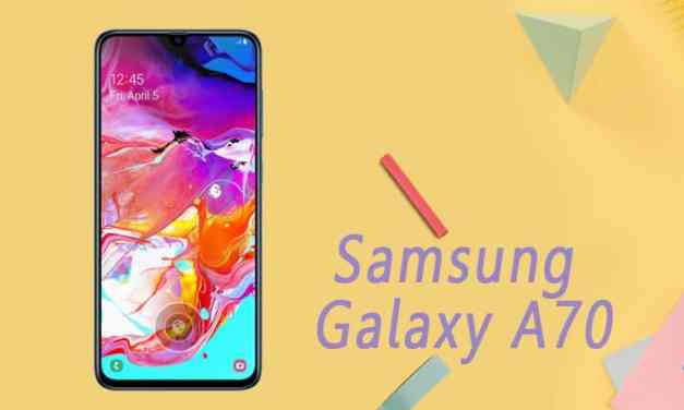Samsung announced New Galaxy A series: Galaxy A70