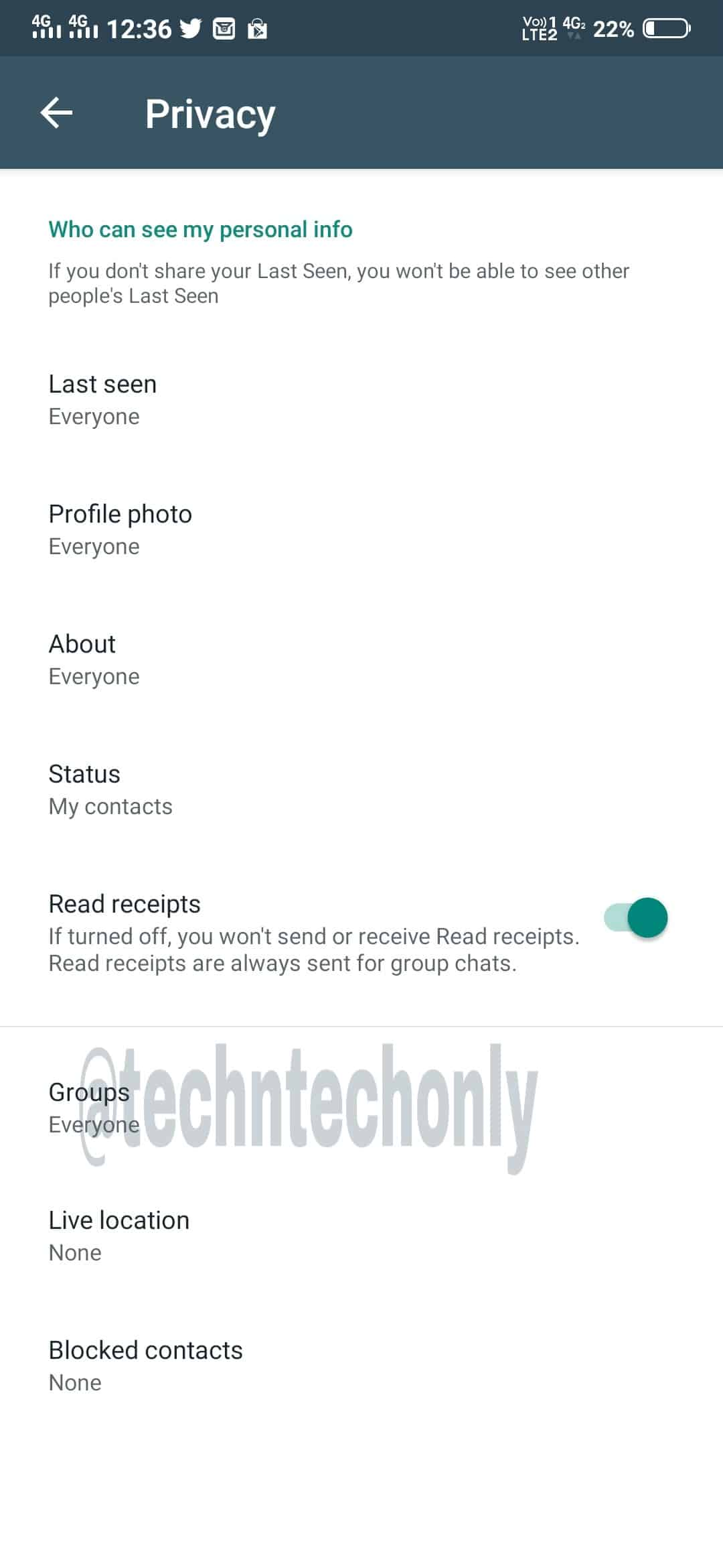 WhatsApp Group Privacy Feature