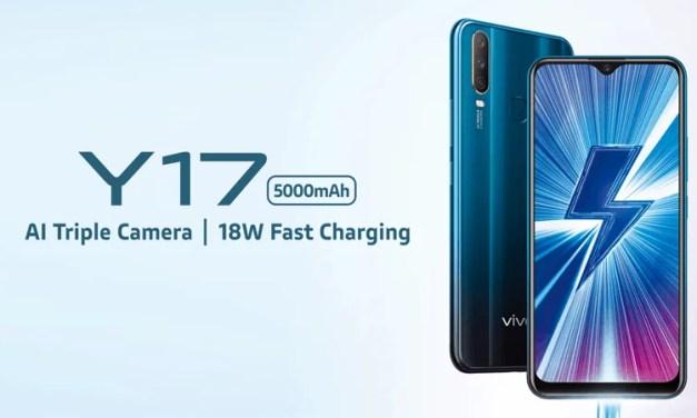 VIVO announced Y17 with Helio P35 on SoC