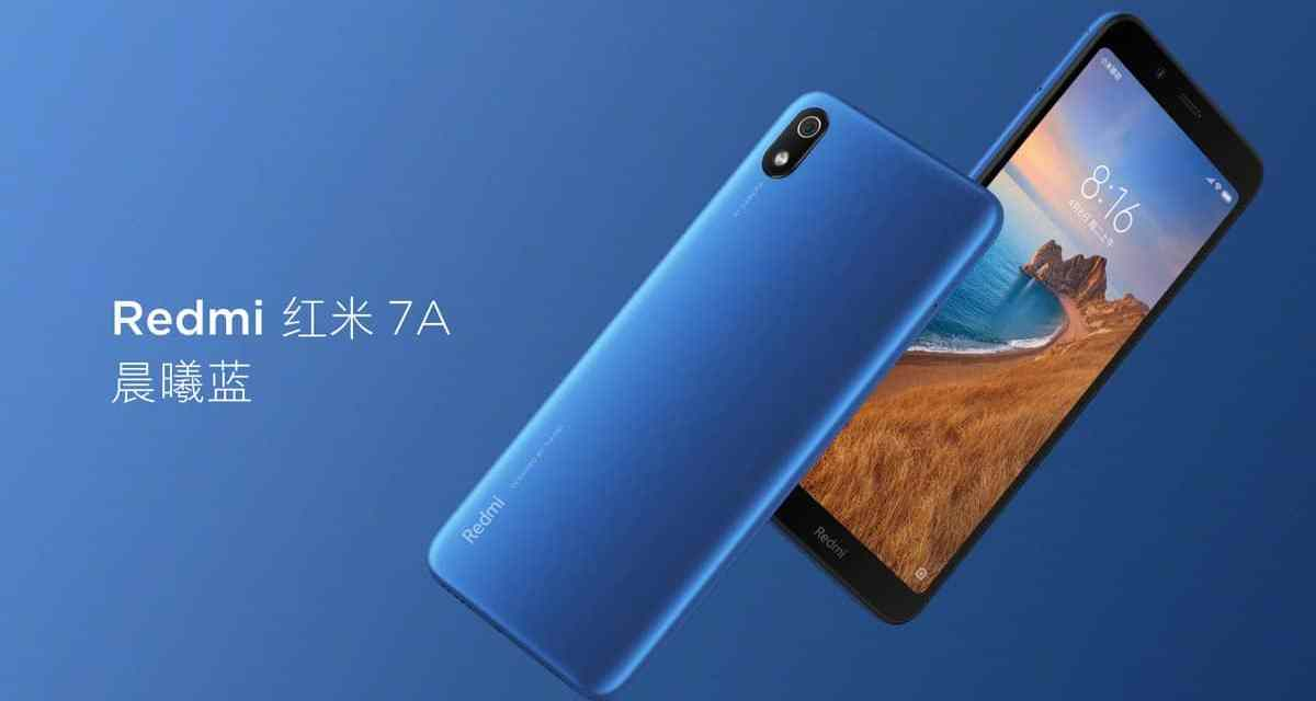 Redmi 7A spotted in China, shows 5.45-inch HD+ display, 4000mAH battery, SDM 439 processor.