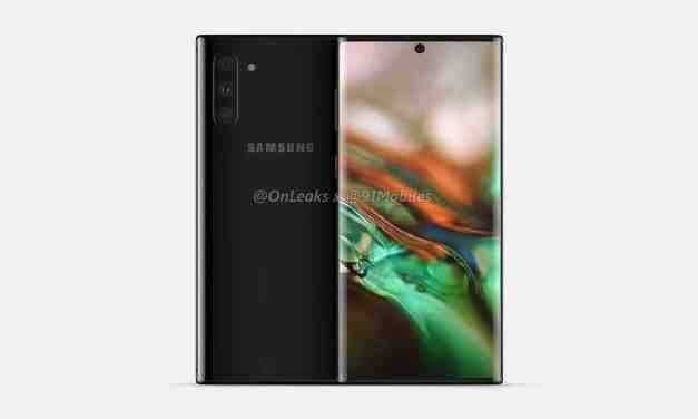 Samsung Galaxy Note 10 series First look & Physical overview