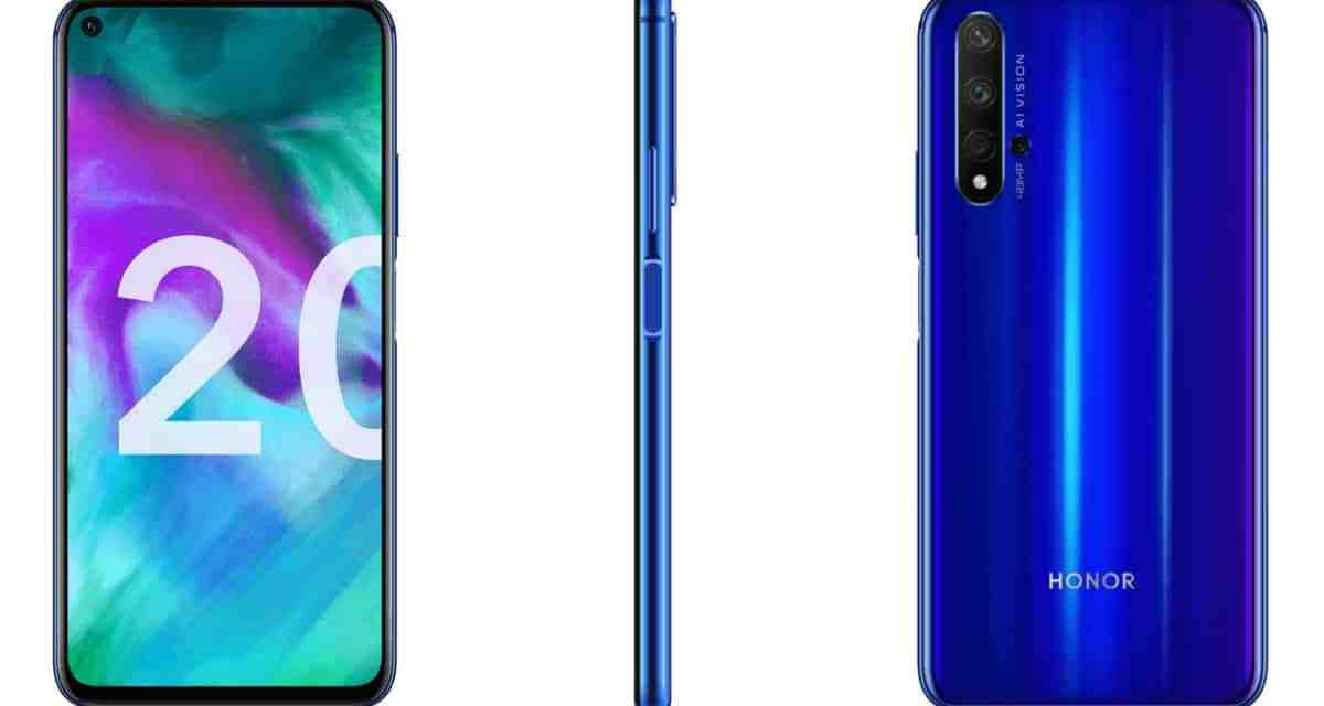 Honor launched Honor 20, 20 Pro & 20i in India: Full Specs & Price
