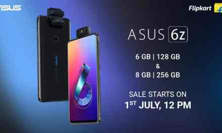ASUS 6z 6GB+ 128GB & 8GB + 256GB storage variant: Price, Sale