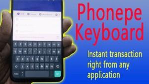 Phonepe Keyboard