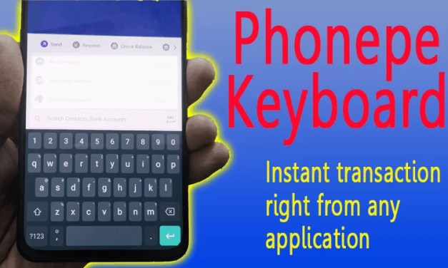 Phonepe Keyboard feature allows UPI transaction instantly on any application
