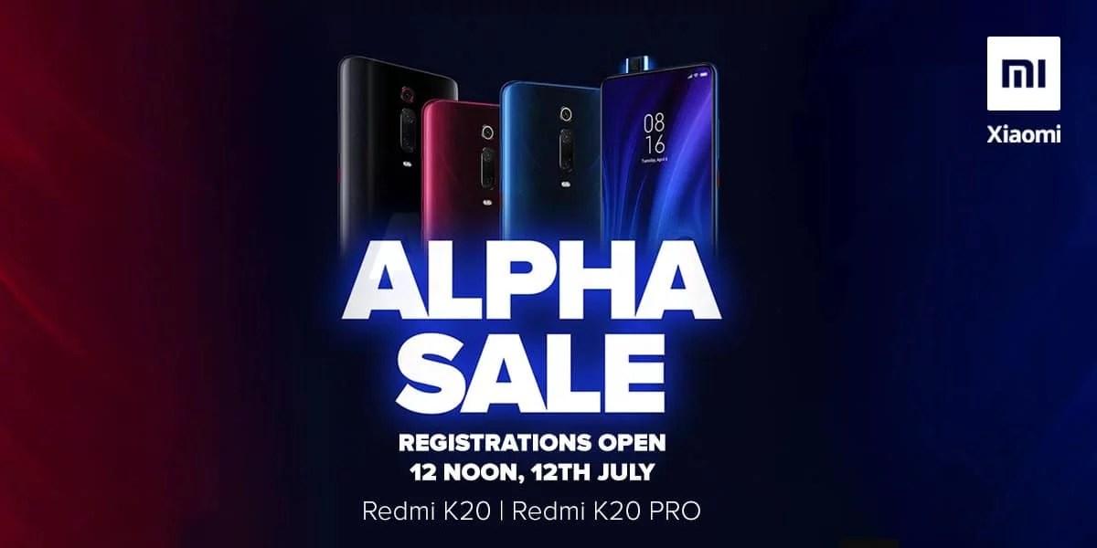 Redmi K20 Pro & K20 will comes in Alpha Sale: How to Pre-Book?