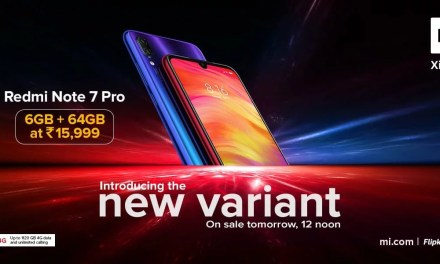 Redmi Note 7 Pro 6GB + 64GB new variant introduced: Price, Sale date