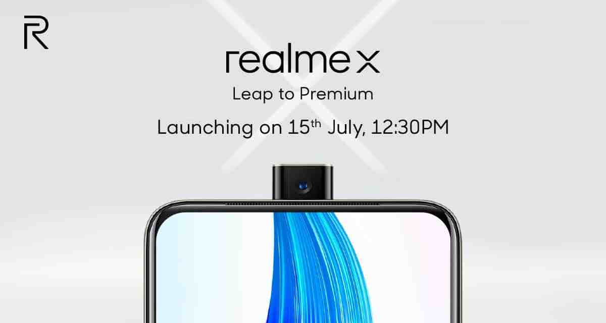 Realme X India launch confirmed on 15th July: Known Specs