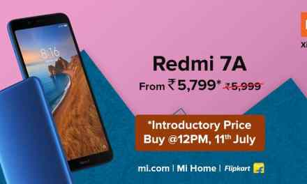 Redmi 7A India Price (launched) starting from Rs. 5,799: Full Specs, Sale