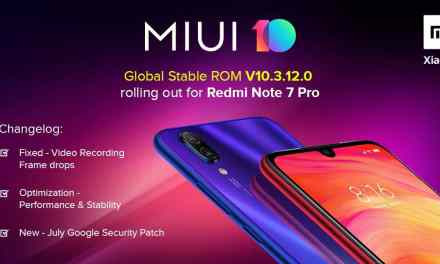 Redmi Note 7 pro update fixes video recording issue via MIUI10