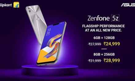 ASUS Zenfone 5Z price drop for all storage variants: Price & Specs