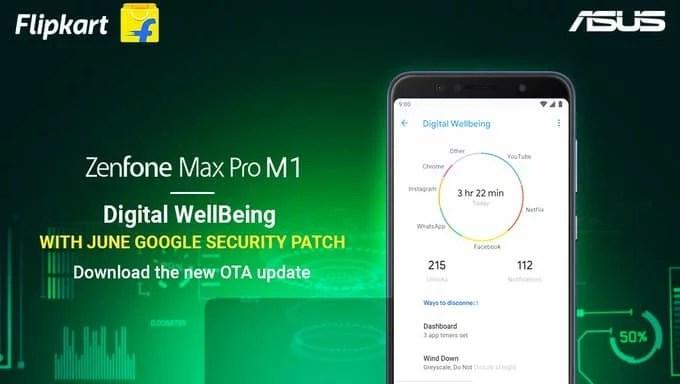 ASUS Max Pro M1 update brings Google Digital wellbeing