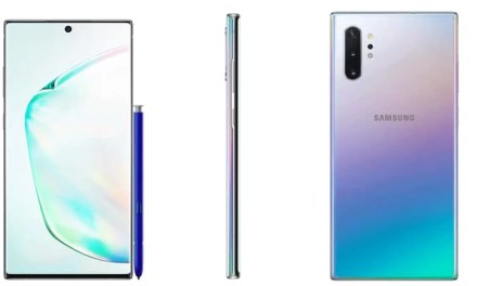 Samsung Galaxy Note 10 Plus Physical Overview & Press renders