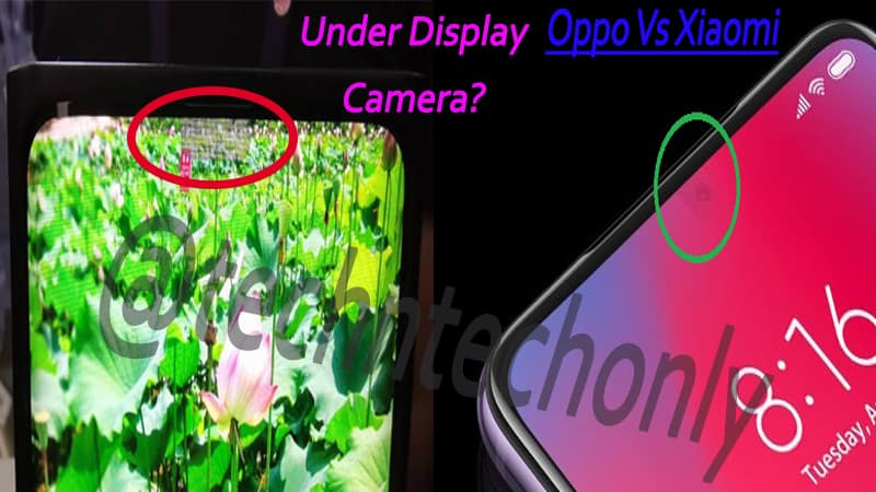 Xiaomi under display camera concept looks more promising than Oppo
