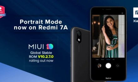 Redmi 7A MIUI update brings Camera Portrait mode & AI Scene Detection