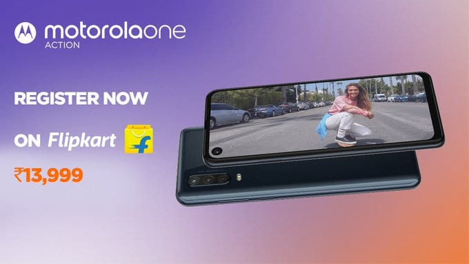 Motorola One Action launched priced for Rs. 13,999: Full Specs & features