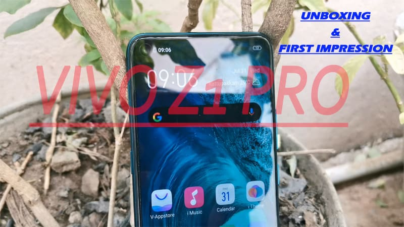 VIVO Z1 Pro Unboxing & First Impression with Camera Samples: Looks Good