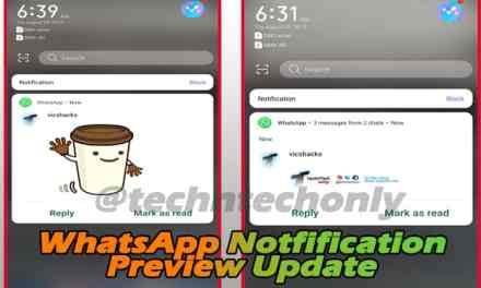 WhatsApp notification now preview images, stickers in Notification bar