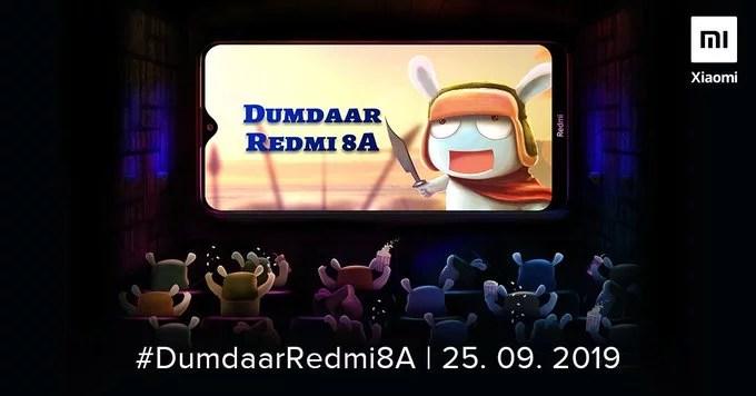 Redmi 8A launch