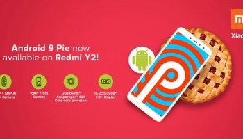 Redmi Y2 Android Pie update