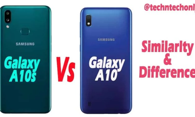 Samsung Galaxy A10s vs A10 Similarity & Difference: Is any upgrade?