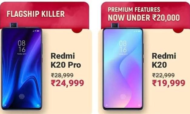 Redmi K20 Pro, K20 & Note 7s got price drop at Flipkart Big Billion Days