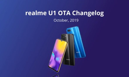 Realme U1 October update brings Dark mode, App Clone, Google Digital wellbeing & more
