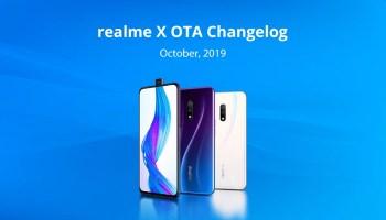 Realme X new update