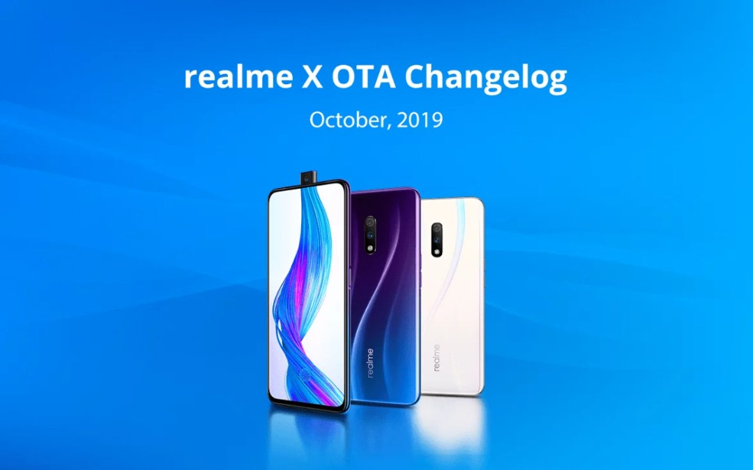 Realme X October OTA update features security patch update, dark mode & more