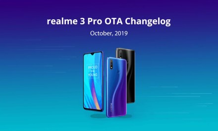 Realme 3 Pro October OTA update brings latest security patch, dark mode & more features