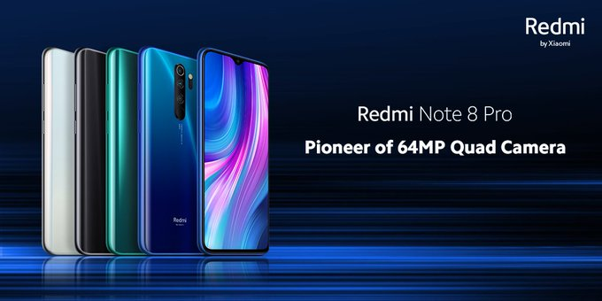 Redmi Note 8 Pro Electric Blue Colour Variant launched