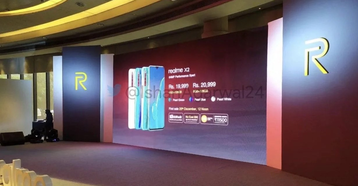 Realme X2 Expected Price in India: 6GB + 128GB & 8GB + 128GB