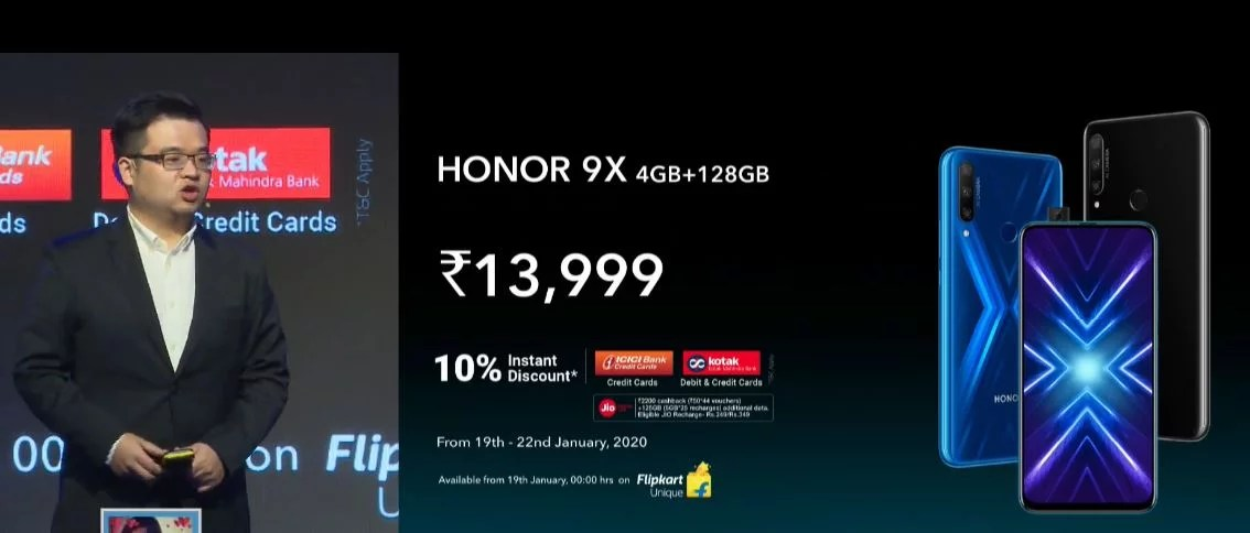 Honor 9X Price, Offers & Full Spec details