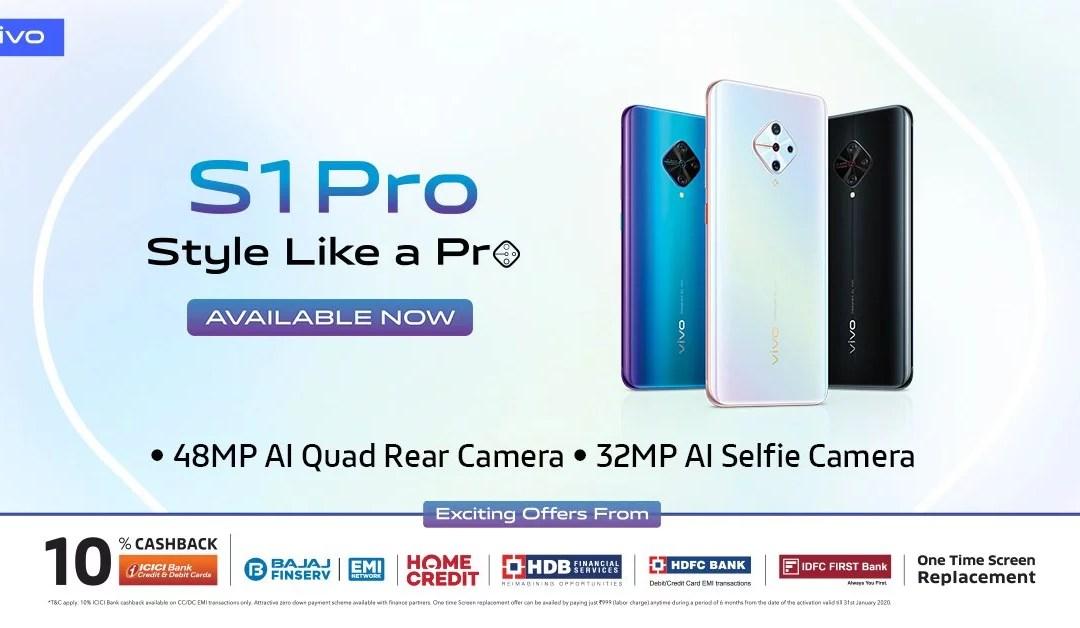 Vivo S1 Pro Price & Full Specifications