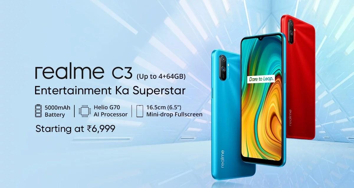 Realme C3 Price, Specs & Features