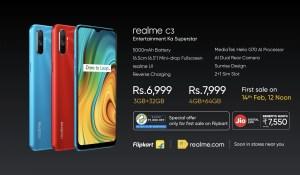 realme c3 price