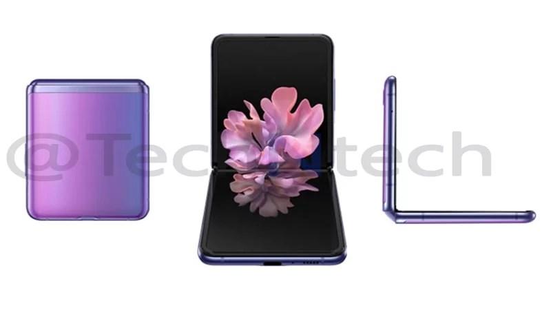 Samsung Galaxy Z Flip hands-on video leaks ahead of launch