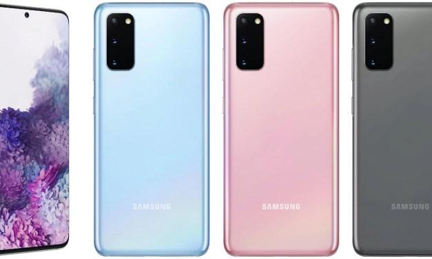 Samsung Galaxy S20 series based on LPDDR5 RAM