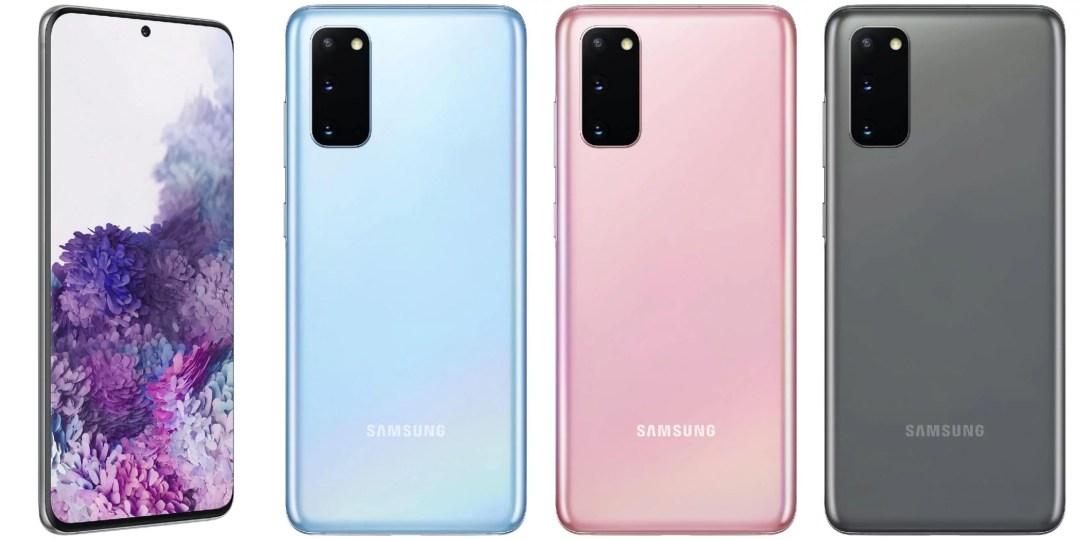Samsung galaxy s20, s20 plus