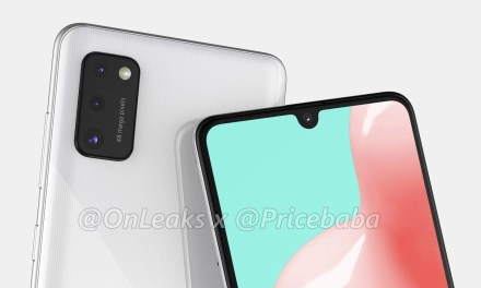 Samsung Galaxy A41 First Look renders – 48MP Triple Camera, U-Notch Display