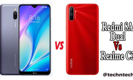 Redmi 8A Dual Vs Realme C3 Similarity & Difference: Which is Best in 7K?