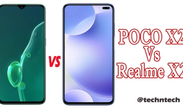 POCO X2 vs Realme X2 Similarity & Difference