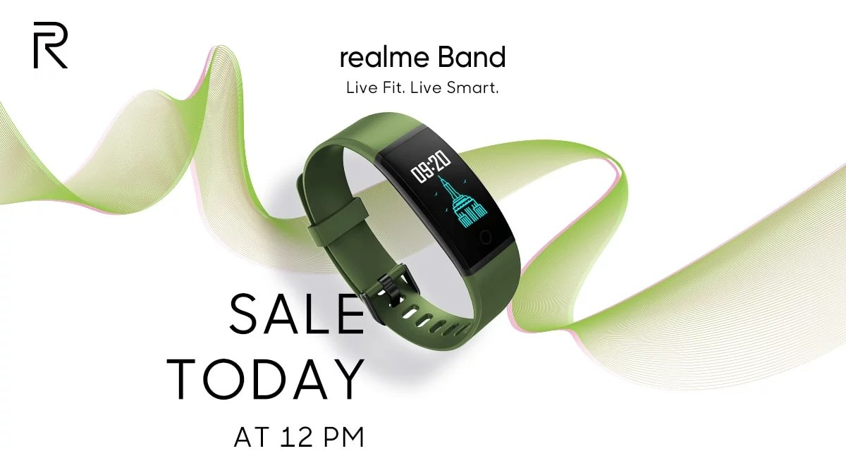 Realme Band Price, First sale, & Features
