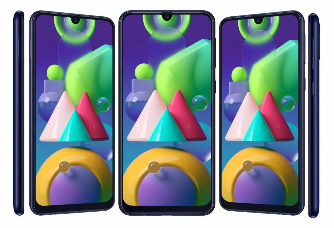 Samsung Galaxy M21 colours