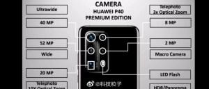 huawei P40 pro plus camera specs details